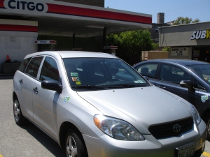 Rogers Park boasts several I-GO locations such as the Citgo station at Sheridan and Touhy, where two cars are available for use.